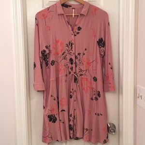 Free People Blush Dress with Pockets